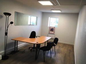 Bureau meublé-Futuropole